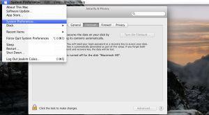 Att koppla på kryptering av hårddisk i Os X