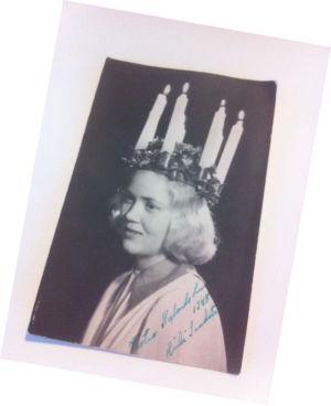Lucia år 1948 Heidi Sandström