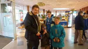 Christoffer Streng, Filip Streng, Samuel Streng och Jeremia Streng