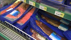 pakattua kalaa