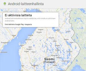 Google Puhelin Paikannus