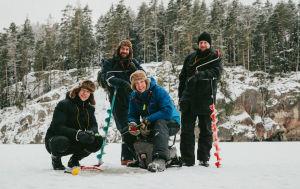 Tomi Jalkanen, Jan Schulte-Tigges, Mikko Peltola ja Tommi Taponen