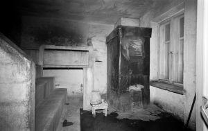 Hernesaarenkadun Sauna Saaren löylyhuone. Hernesaarenkatu 15.