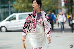 Christian som står bakom bloggen The Styleograph har fångat den stora modebloggaren Susie Lau på bild.