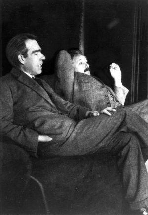 Bohr ja Einstein 1925