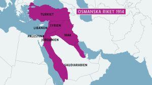 osmanska riket 1914,