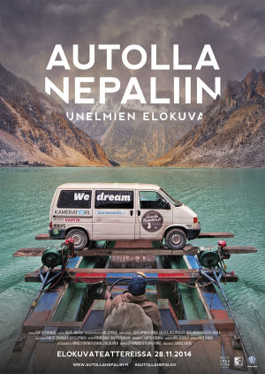 Autolla Nepaliin -juliste