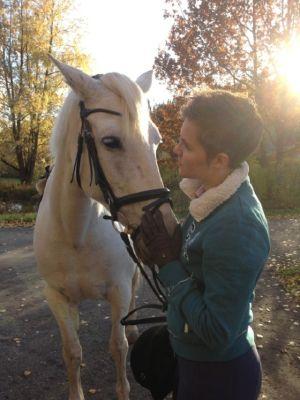 Ronja Salmi ja hevonen