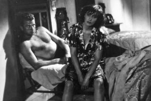 Kuva Luchino Viscontin elokuvasta Riivaajat (Ossessione)