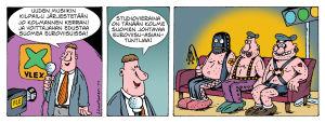 UMK 15 sarjakuva