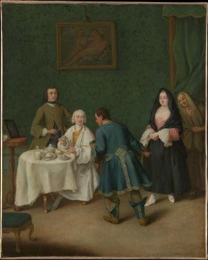 Pietro Longhi: The Temptation