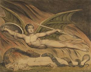 William Blake: Satan Exulting over Eve