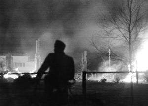 Brinnande ruiner, Lapplandskriget