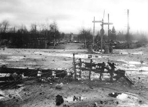 Lapplandskriget, ruiner