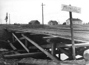 Minerad bro, Lapplandskriget