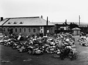 Evakuering, Rovaniemi, Lapplandskriget