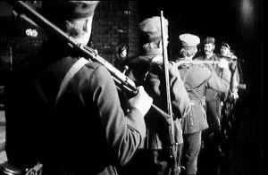 Kohtaus Jääkärin morsian -näytelmässä (1972)