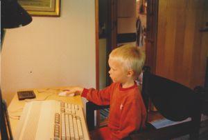 Veli Laamanen aloitti pelaamisen isoveljien Amiga 500:lla.