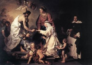 The Marriage of St Catherine, Pierre Subleyras