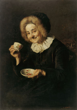 Ivana Kobilcan maalaus Kofetarica 1888