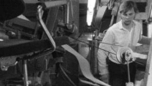 Pappersfabrik, Kauttua, 1972