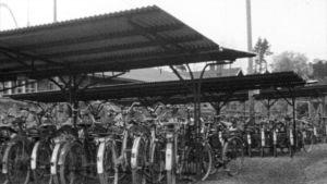 Cykelställning, 1972