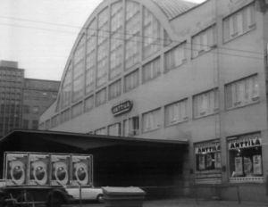 Tennispalatsi vuonna 1973