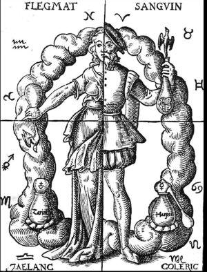 Humoraaliopin kuvaus 1500-luvulta