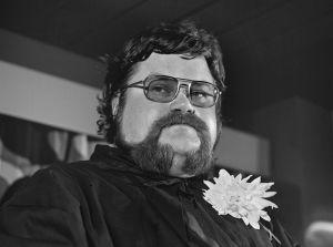 Jarmo Porola kuvattuna eläkejuhlassaan.