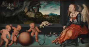 Lucas Granach vanhemman allegoria melankoliasta (1532)
