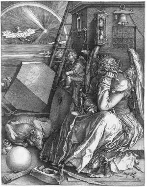 Albrecht Dürer - Melancolia I (1514)