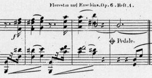 Schumannin Florestan ja Eusebius