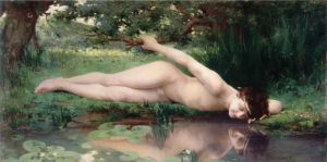 Jules-Cyrille Cave - Narcissus (1890)