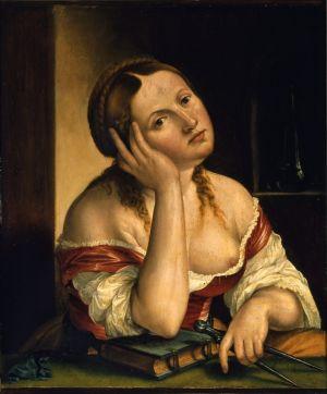 Georg Pencz - Die Melancholie 1545