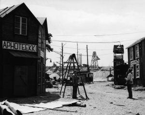Ote elokuvasta Villi Pohjola (1955).