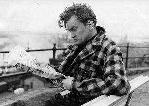 Ote elokuvasta Jokin ihmisessä (1956).