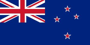 Nya Zeelands flagga.