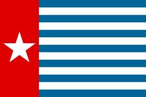 Västpapuas flagga.