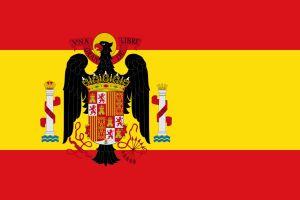 Spaniens flagga 1945-1977