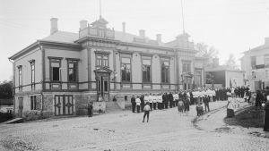 Brandkårshuset år 1909