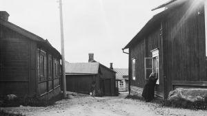 Östra Långgatan i Borgå
