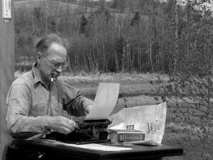 """Amerikan ääni"" Eero Boman (1947)."