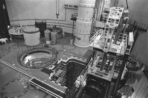 Reaktorn i Lovisa kärnkraftverk byggs, 1976