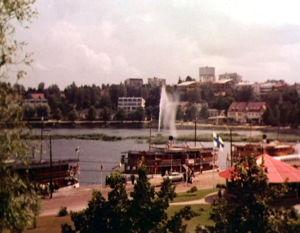 Lappeenrannan satamaa 1961