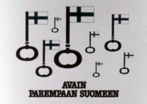 Avain parempaan Suomeen, kotimaisuuskampanjan mainos 1983