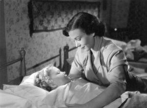 Ote elokuvasta Ylijäämänainen (1951).