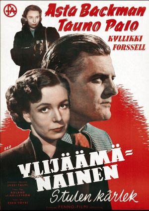 Elokuvajuliste: Ylijäämänainen (1951).