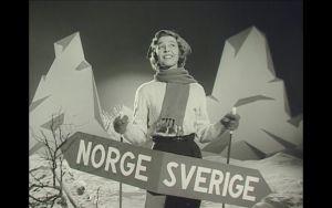 Johanna Isosävi ja Hanna Lappalaisen tietokirjan kuvitusta. Kuva on peräisin ruotsalaisesta mainosfilmistä.