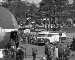 Savon messut Kuopion Myllykalliolla 1960-luvulla