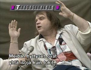 Meat Loaf 1989 Nummirokissa.